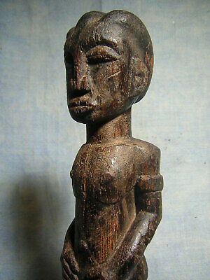 Art Africain Statue Baoule Statuette Africaine Masque African Mask Afrique