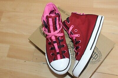NIB GIRLS KIDS TODDLER CONVERSE CTAS 2V OX RUST PINK SNEAKERS SHOES SZ 7-10