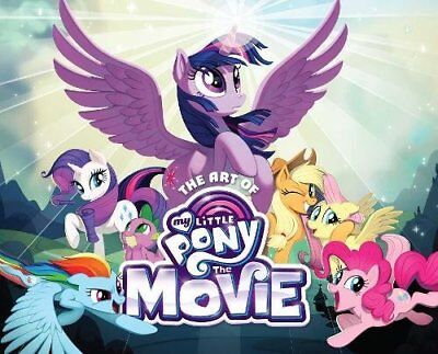 The Art of My Little Pony: The Movie, , New condition, Book