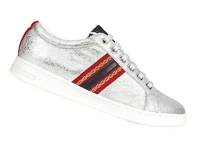 Scarpe Sneakers Donna Geox Estate D921Ba 0Vibc C0668 Jaysen Silver And Navy 8302e89cca9