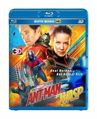 Ant-Man and the Wasp (Blu-ray 3D & 2D, 2018 ) *Region Free* SHIPPING FREE !!