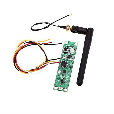 New Wireless DMX512 2.4G Led Stage Light PCB Modules Board with Antenna Uo