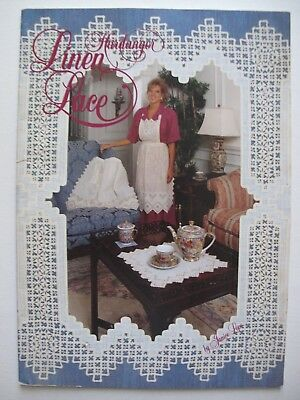 HARDANGER LINEN & LACE - Embroidery Pattern book by JANICE LOVE, USA