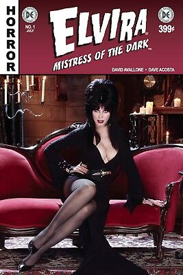 ELVIRA MISTRESS OF DARK #1, CVR F PHOTO, New, First print, Dynamite (2018)