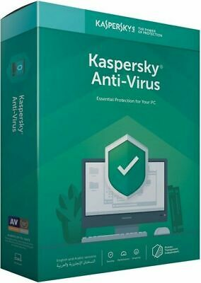 Kaspersky Antivirus 2019 3 PC Device 1 Year Global License