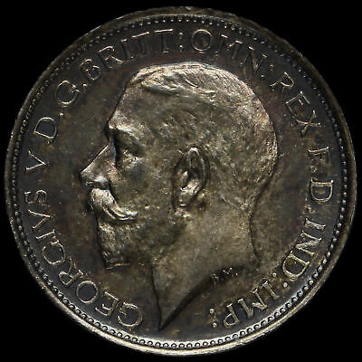 1913 George V Silver Maundy Fourpence