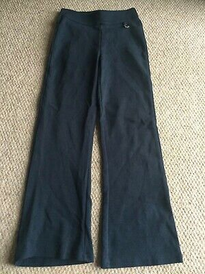 Next Blue Girls Navy Jogging Bottoms Age 7 Slim