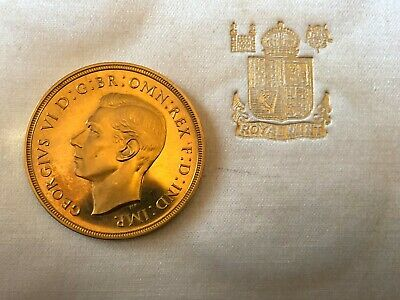 King George The Vi 1937 Gold £2 Proof Sovereign