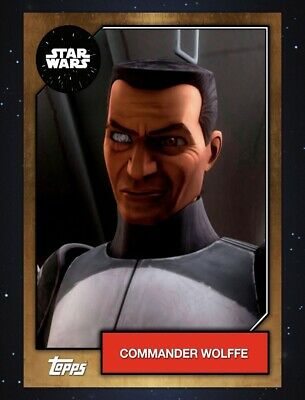 Topps Star Wars Card Trader 2019 Series 6 Bronze Base Variant - Commander Wolffe