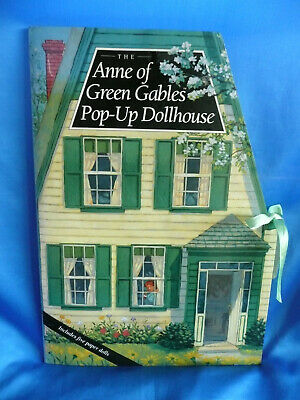 Rare Anne Of Green Gables Book Pop-Up Dollhouse Anne's Prince Edward Island Home