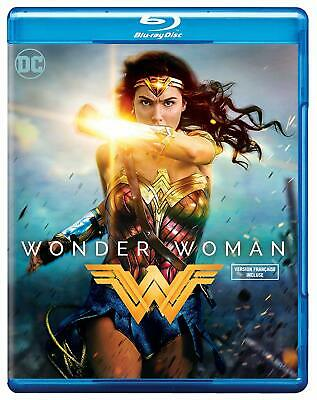 Wonder Woman (2017 Blu-ray, Canadian w/ USA Compatible Discs) BRAND NEW/SEALED
