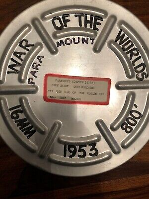 "16mm Film Reel ""War Of The Worlds"" 1953 Paramount Picture"