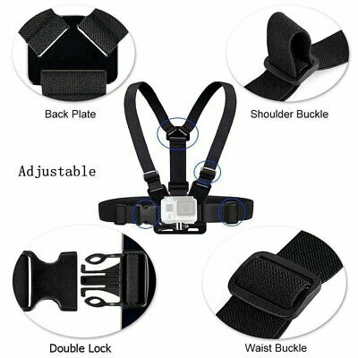 Adjustable Chest Body Strap Mount Harness Belt for Gopro Hero 2/3/3+/4/5 ES