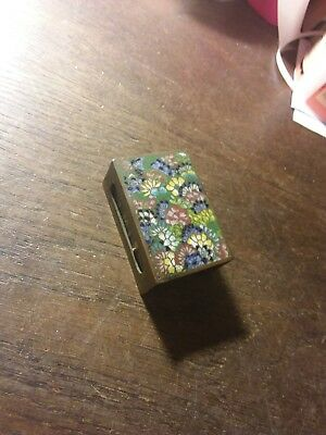 Antique Cloisonne Matchbox