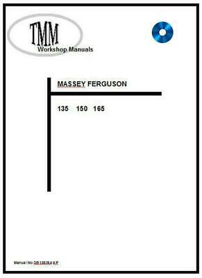 Massey Ferguson TMM 135 150 165 series Workshop Manual  Digital