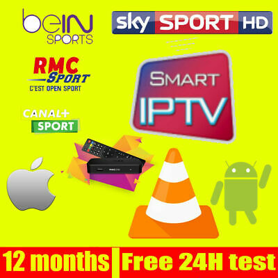 1 YEAR IPTV SUBSCRIPTION FOR +5000 Channels, VOD, Series, Adults.. 24H FREE