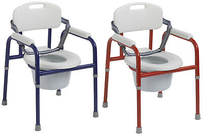 Drive Medical Pinniped All-In-One Steel Frame Pediatric Toilet Commode 2 COLORS