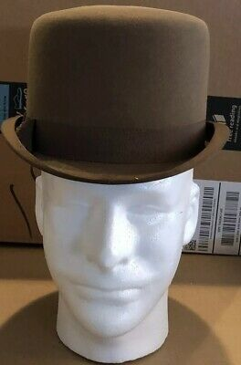 Vintage Chatfeld Of London Bowler Hat Early 1900's Size Approximately 6 3/4.