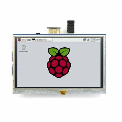 5-inch Resistive Touch Screen LCD Display HDMI for Raspberry Pi XPT2046 G@