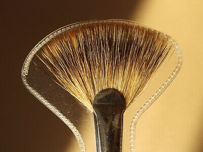 UTRECHT Pure Badger Fan Blender Oil Painting Artist Paint Brush Size 8 Serie 308