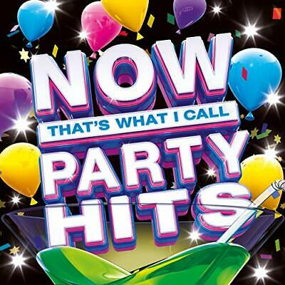 NOW That's What I Call Party Hits [Audio CD] Various Artists