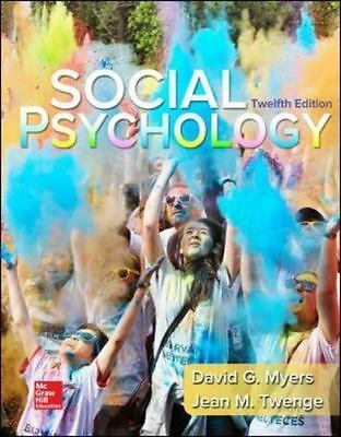 Social Psychology 12th edition by David Myers {PDF} **SAME DAY DELIVERY**