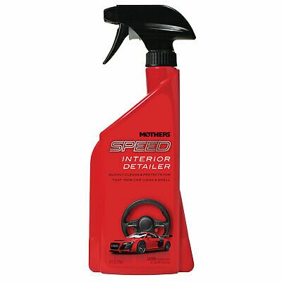 Mothers Polish 18324 Speed Interior 24 Ounce Bottle of Car Interior Detailer