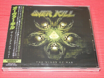 2019 OVERKILL WINGS OF WAR  with Bonus Track JAPAN CD
