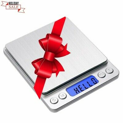 Digital Scale Gram and Ounces 3000g x 0.1g for Food Jewelry Coin Herb Grain Lab