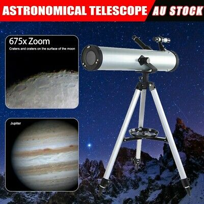 Astronomical Telescope 114mm Aperture 675x Zoom High Resolution Night Vision WWB