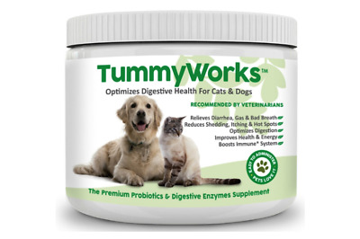 Probiotics for Dogs Cats. Best Powder To Relieve Diarrhea, Yeast Infections, I
