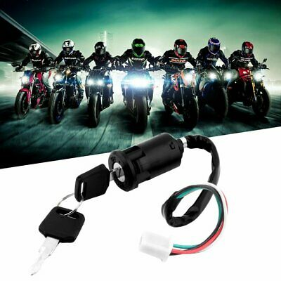 Universal Motorcycle Scooter 4 Pin Ignition Switch With Key Suitable For Honda★★