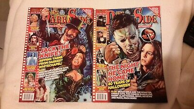 The Dark Side Horror Magazine Issue 193 and 195