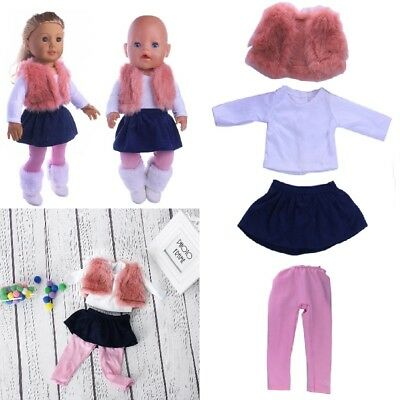 Doll Clothes Dress Outfit Clothes For 18'' American Girl Our Generation Doll