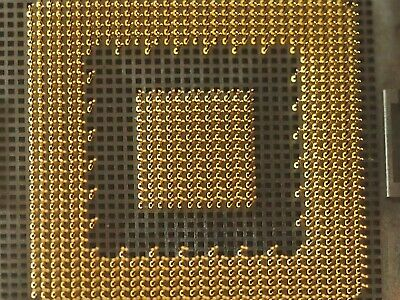 old bga socket - 852pin gold.p pins 62 x 62mm for gold recovery scrap Recycling