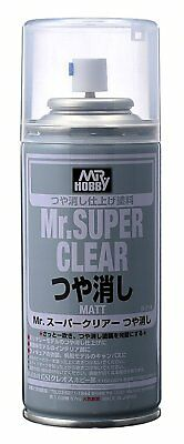 "Gunze Mr Hobby Super Clear FLAT ""MATT"" Spray Can  5.75 oz. (170ml) B514"