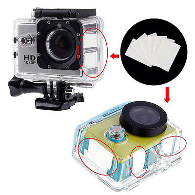 36pcs White Anti-Fog Drying Reusable Inserts for GoPro HERO Session Cameras DB