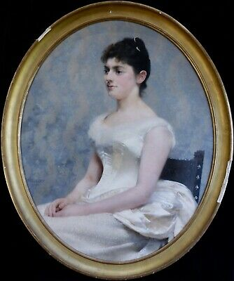 PAUL LE ROY (1860-1942) FRENCH IMPRESSIONIST OIL to £72,000 PORTRAIT OF A LADY