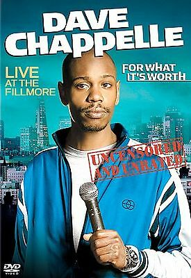 Dave Chappelle - For What Its Worth (DVD, 2005)