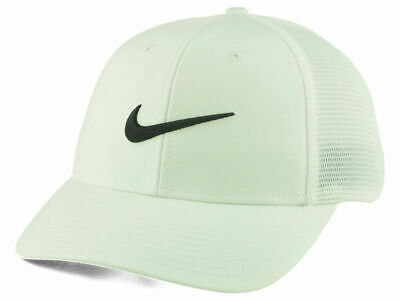 c228892c049 Nike Golf Legacy91 Tour Mesh Cap Hat Swoosh Classic Fitted Unisex White Dri- Fit