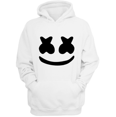 DJ Marshmello Hoodie Unisex - Comfy and Aesthetic White