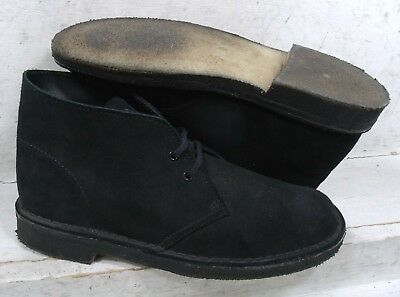 a6fe6829400 CLARKS ORIGINAL DESERT Boots Distressed Brown Leather Sz 13 Barley ...