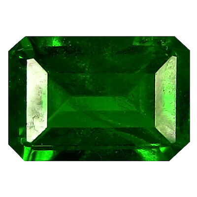 1.11 Ct Significant Emerald Cut (7 x 4 mm) 100% Natural Green Chrome Diopside