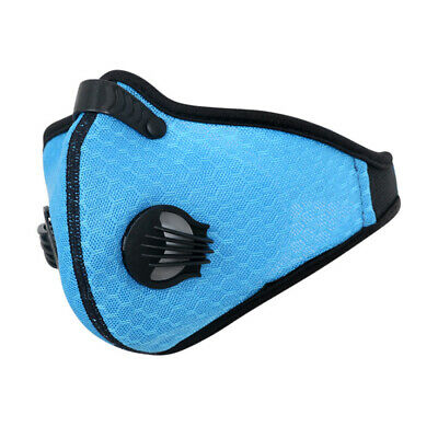 Cycling Mask Activated Carbon Dust Proof Outdoor Bicycle Sports Half Face Cover