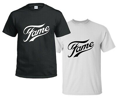 kids childrens FAME T SHIRT Retro 80s Grease Inspired Musical Modern party dance