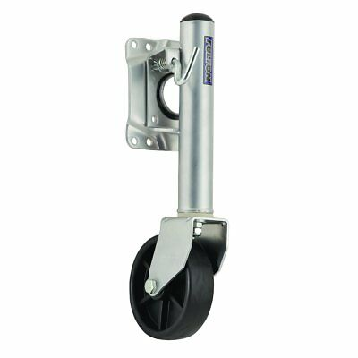 """Fulton 1410050149 Swivel Trailer Stand with 6"""" Poly Wheel"""