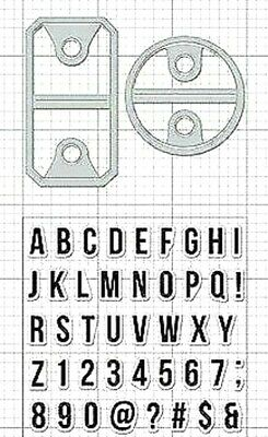 Clearly Kelly Hero Arts Open Me Clear Acrylic Stamp /& Cut Die Set DC192 NEW