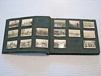 WW1 World War One French Army Battle Photograph Album Tanks Calvery Cannons