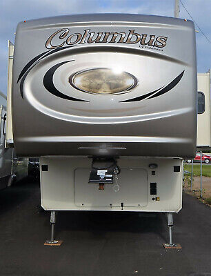 Columbus 383FB RV Camper 2018 New 4 Slides Front Bath Rear Living CLEARANCE PRIC