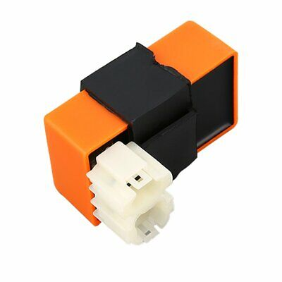 6 Pin AC CDI Ignition Box Orange For GY6 50cc 125cc 150cc Moped Scooter☼~♌